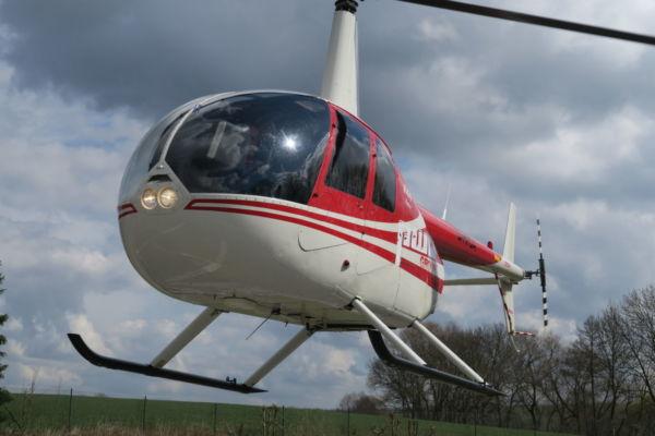 Helikopter fliegen - Robinson R44