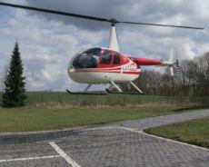 Hubschrauber fliegen - Robinson R44
