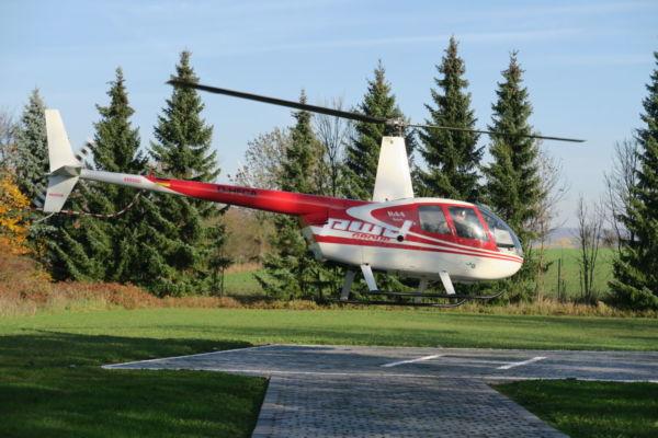 Robinson R44 Helikopter Rundflug