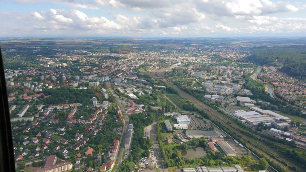 Hubschrauber-Rundflug über Gera