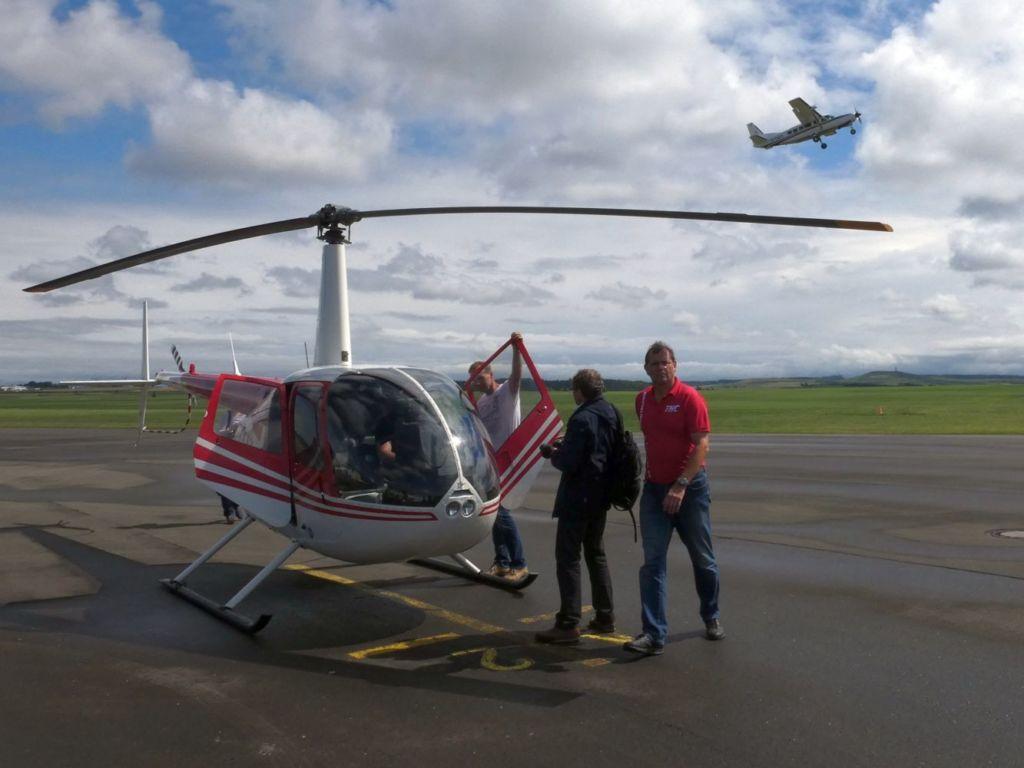 Hubschrauber-Rundflug im R44