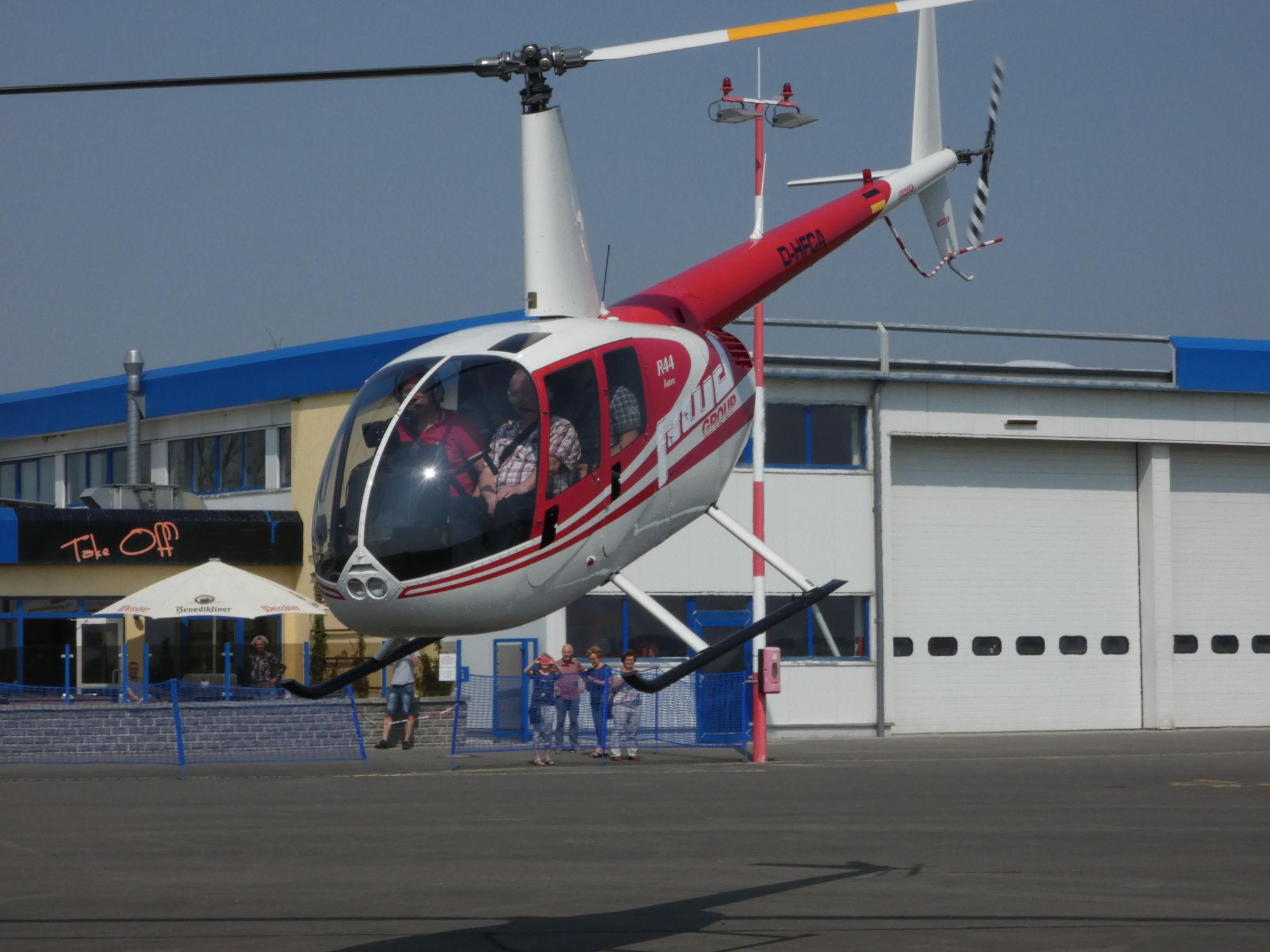 Hubschrauber-Rundflüge ab Gera